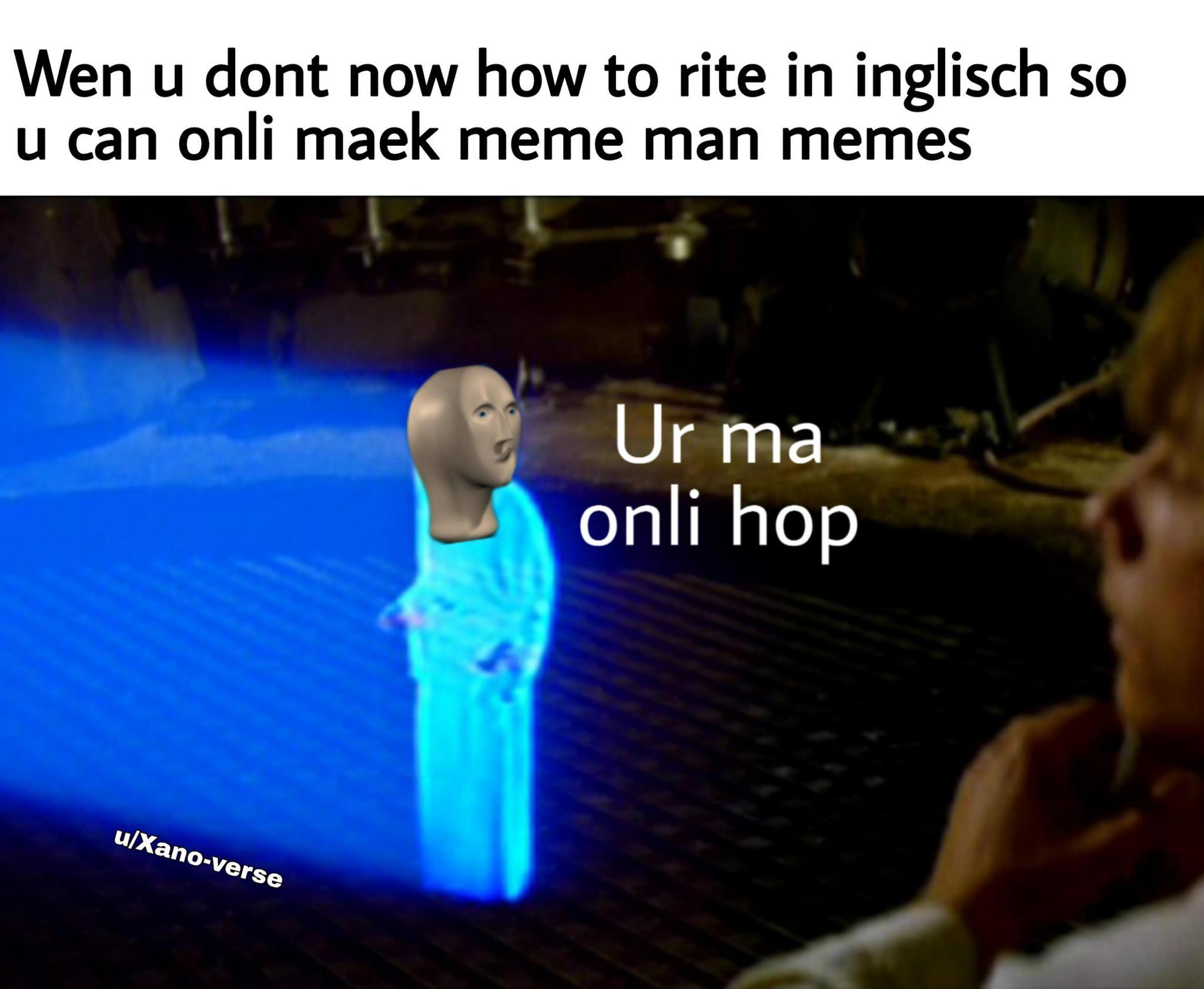 halp ma - meme