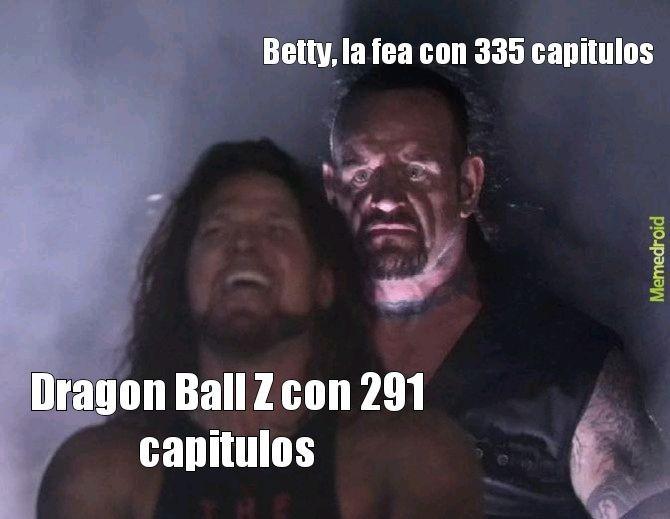 El titulo se fue a ver Dragon Ball Z Kai por el canal Warnee - meme