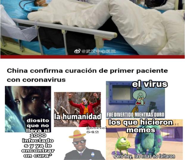 GG para la humanidad - meme
