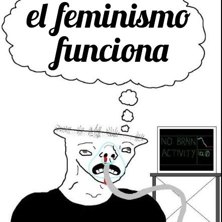 feministas:*rayan paredes* also feministas:estoy matando el machismo - meme