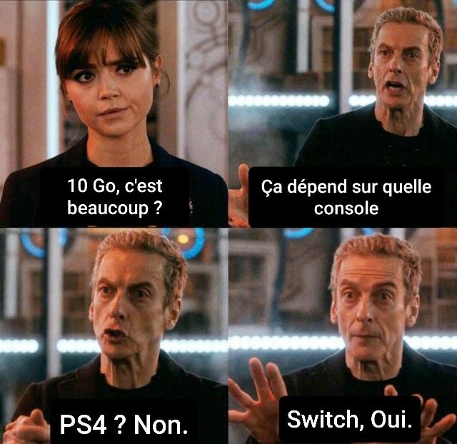 Team PS4/ XBOX/ SWITCH ? - meme