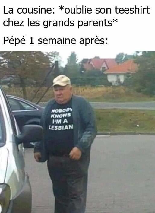 Oh Gérard ton tee-shirt - meme