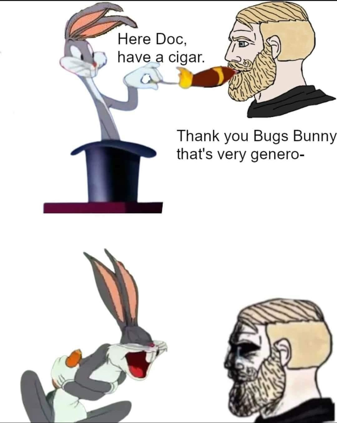 Thanks, Bugs - meme