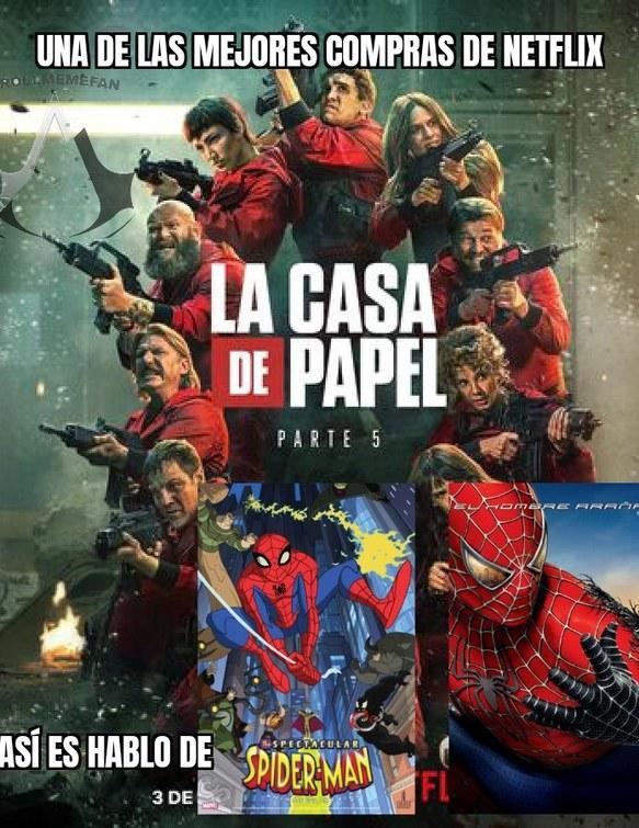 Están en Netflix España,no se en otros países - meme