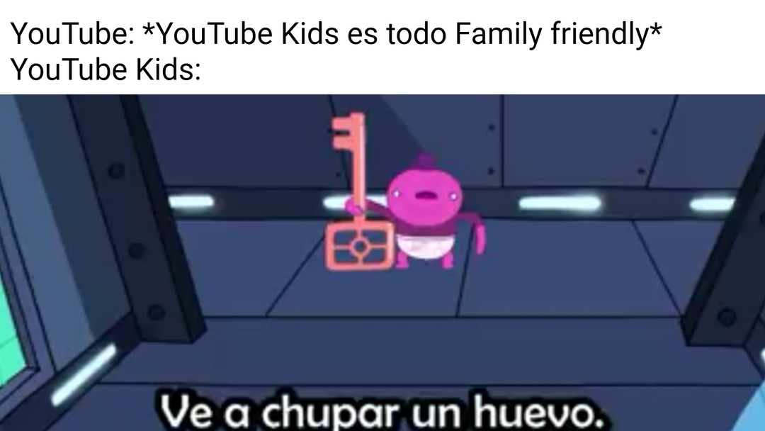 Otro meme de YouTube Kids