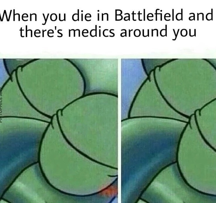 Medics suck sometimes in Battlefield - meme
