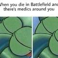 Medics suck sometimes in Battlefield