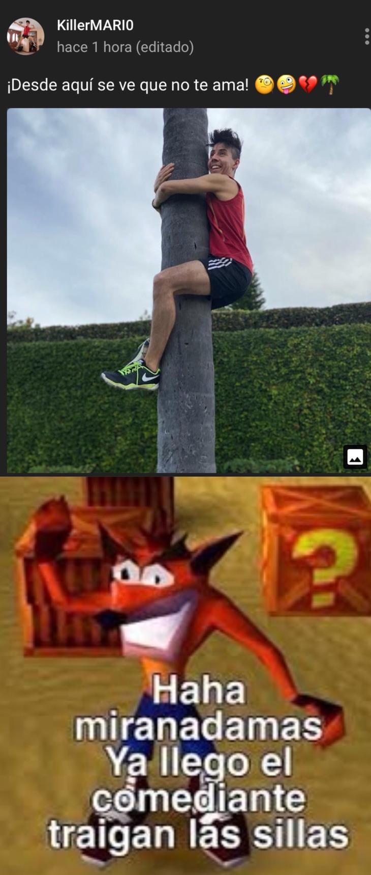 miren nomás - meme