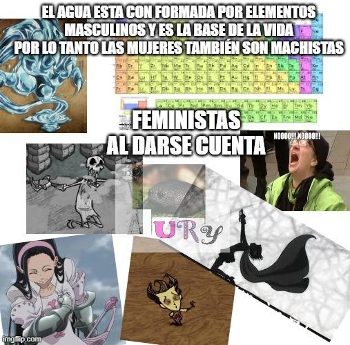 feminismo logic be like: - meme