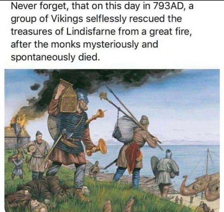 Viking raids - meme