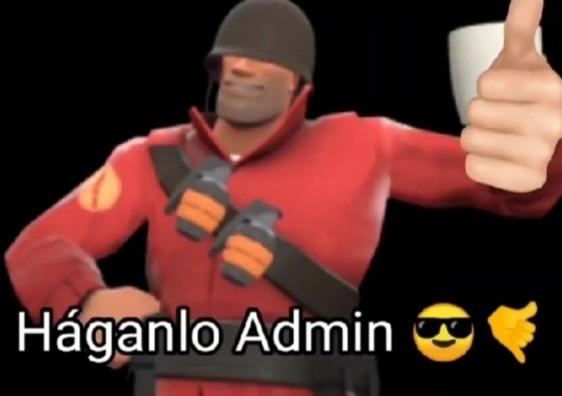 Háganlo admin  - meme