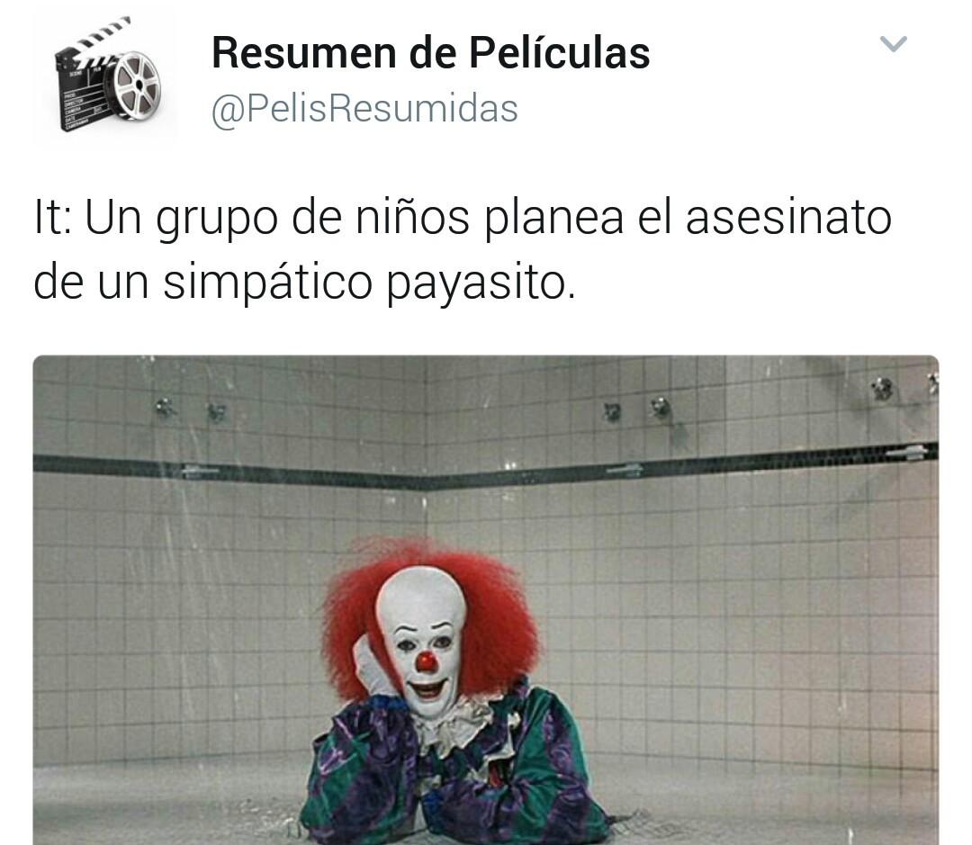 Simpatico payaso - meme