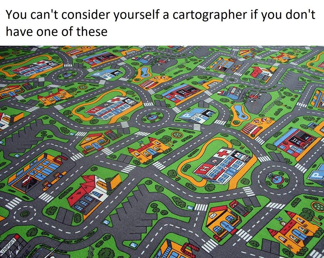 cartography - meme