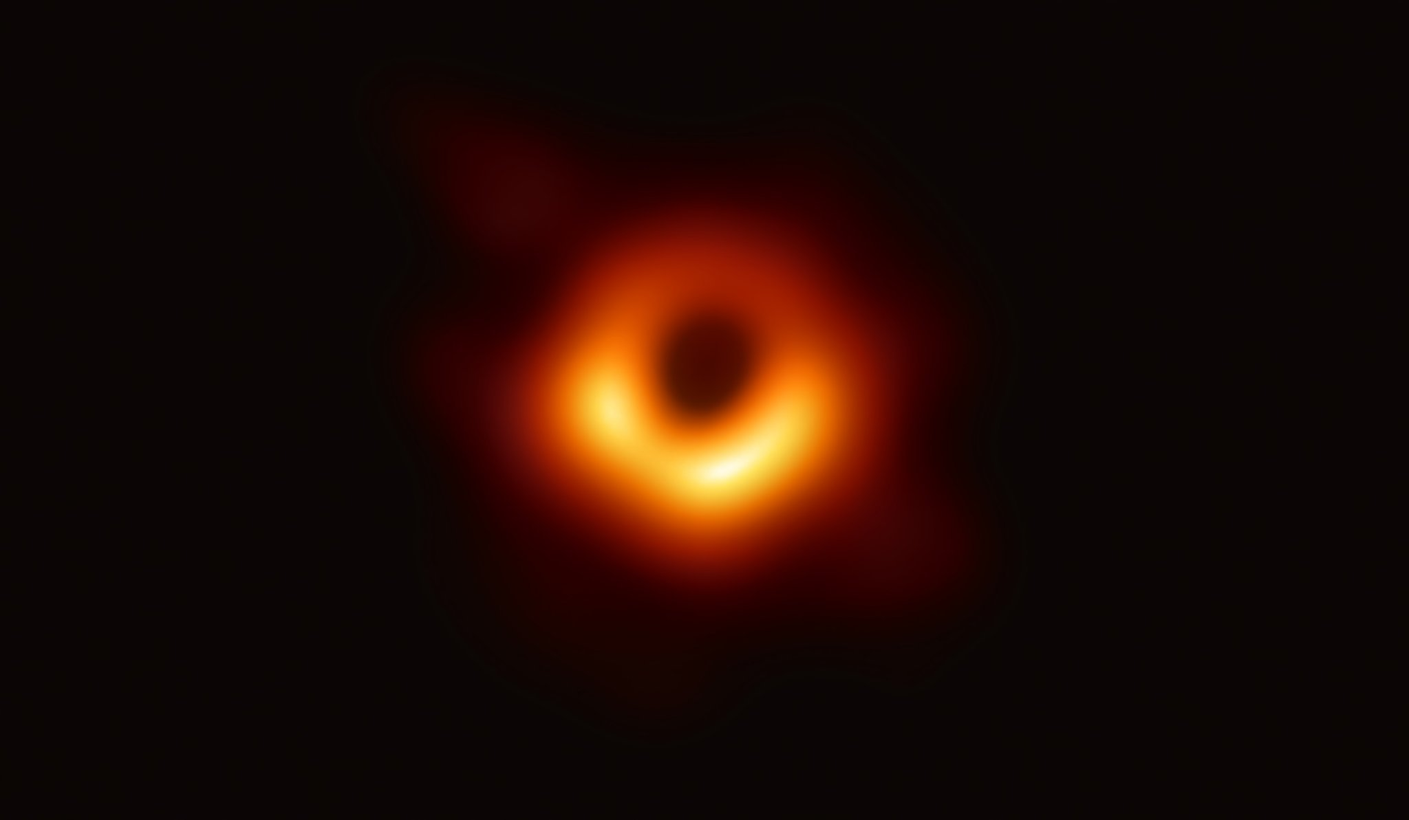 First image of a black hole - meme