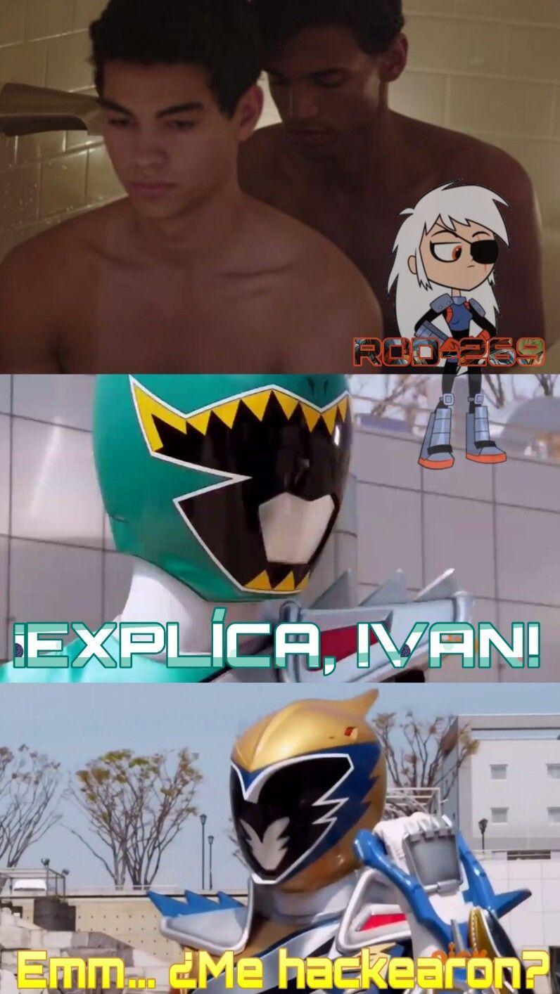 El Chico De Arriba Es Ivan, El Ranger Oro - meme