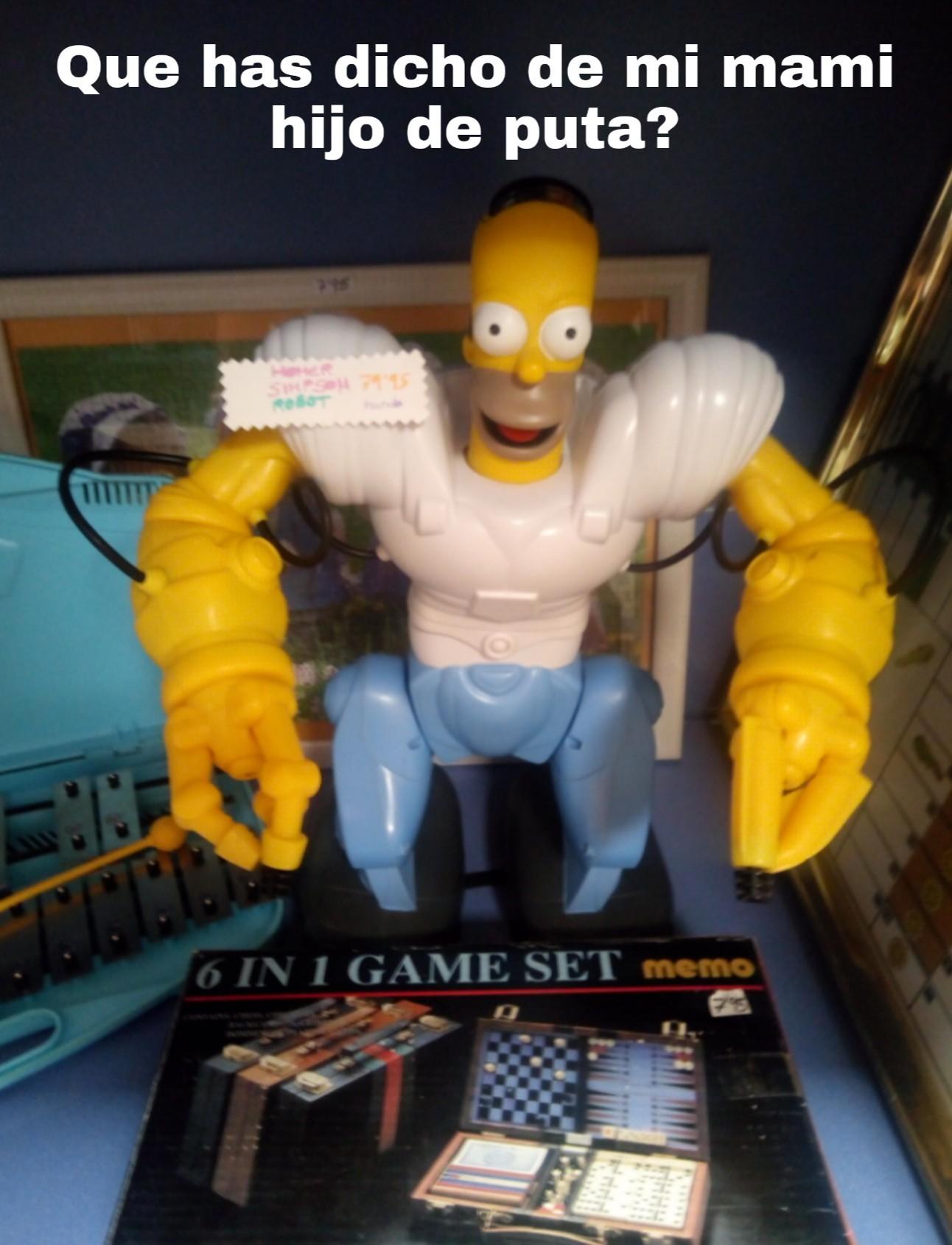 Homero robot - meme
