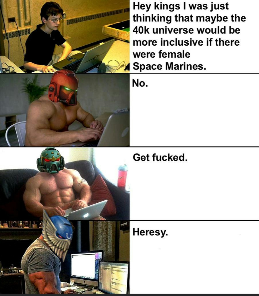 Space Marines - meme