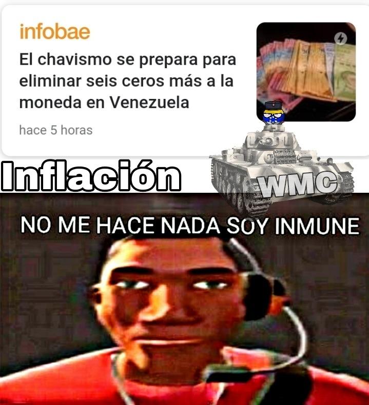 Por qué Maduro? Solo hará más pobre a la gente, imagina tener 100 millónes y quedar con 100 bolívares - meme