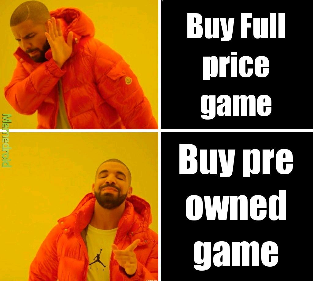 Gamestop be like - meme