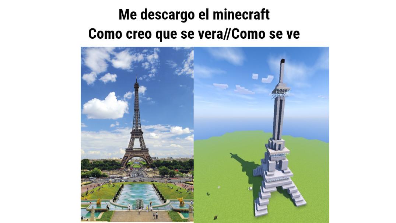 COMO CREO COMO ES - meme