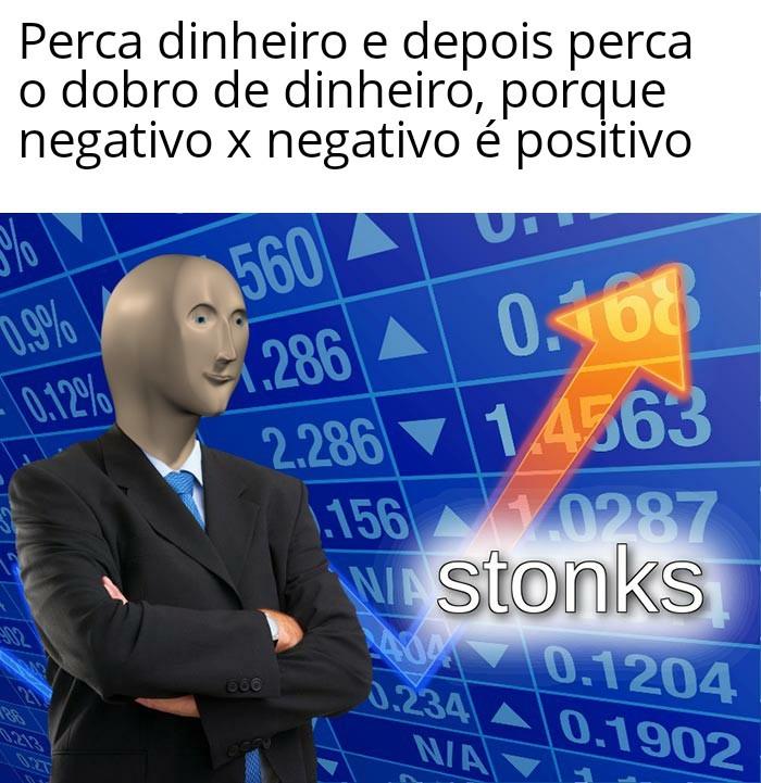 Título foi perder dinheiro - meme