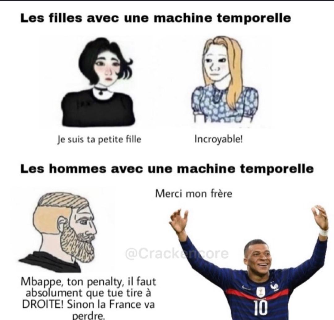 Mbappé - meme