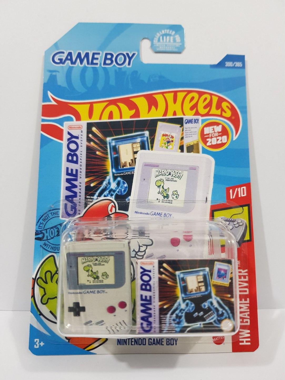 Nintendo game boy hotwheels - meme