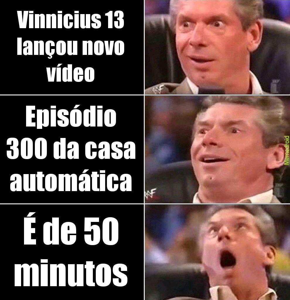 Vinnicius 13 GOD - meme