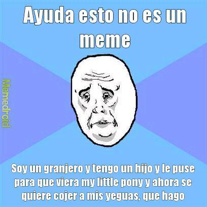 Ayuda banda - meme