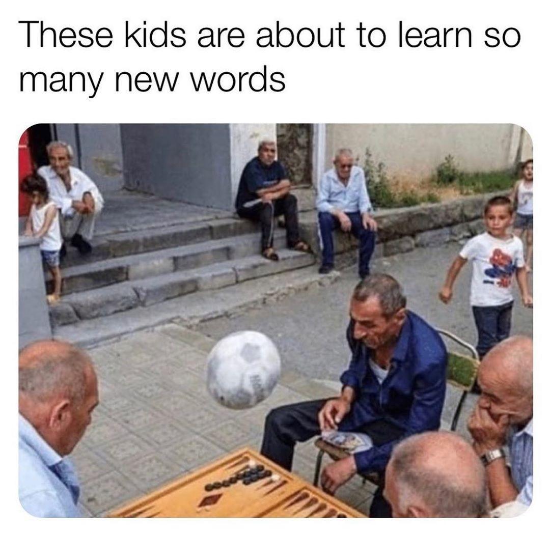 A lot of words - meme