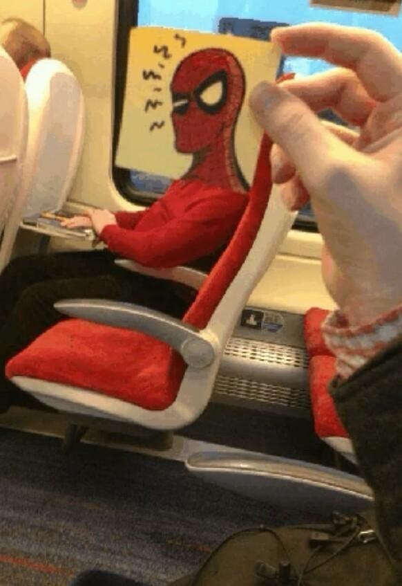 Tava no meu trem hoje hahaha - meme