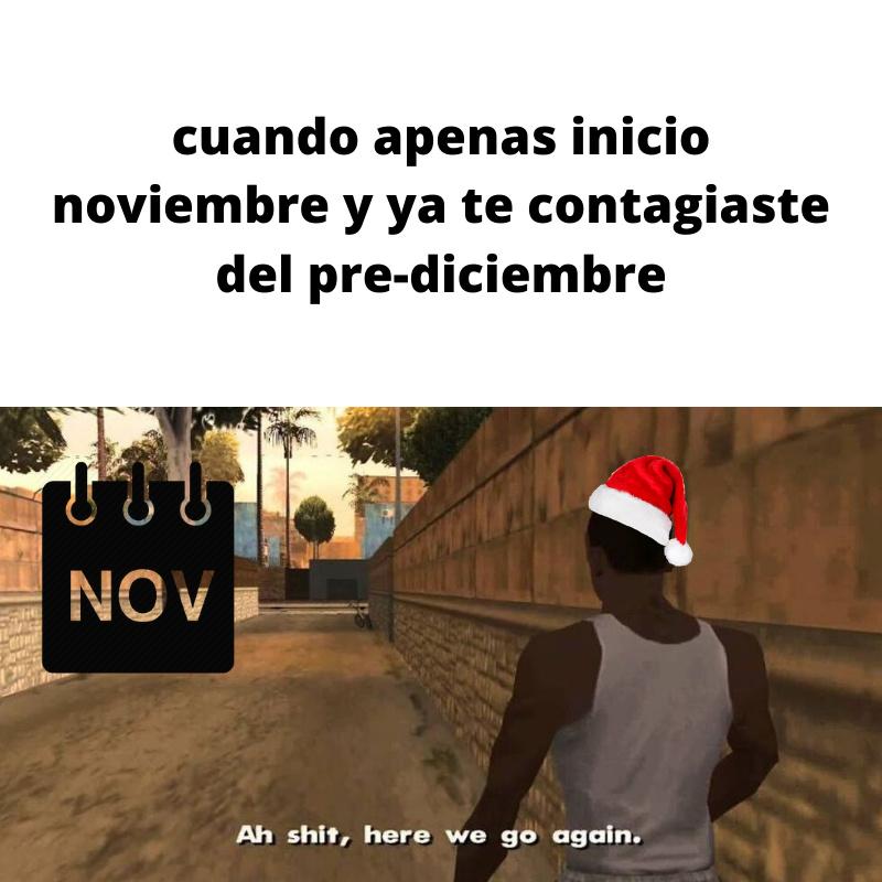 pre-diciembre - meme