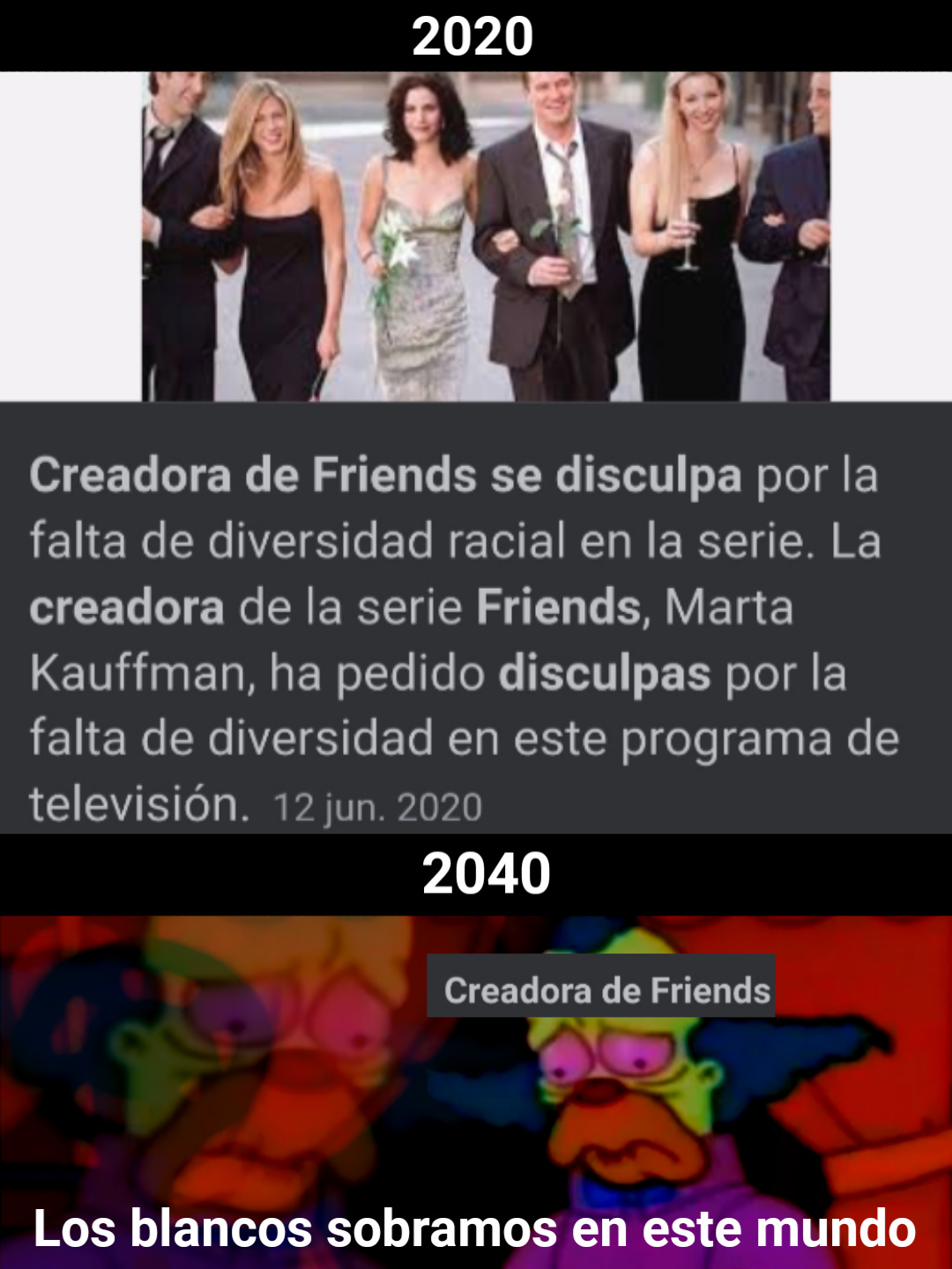 Friends - meme