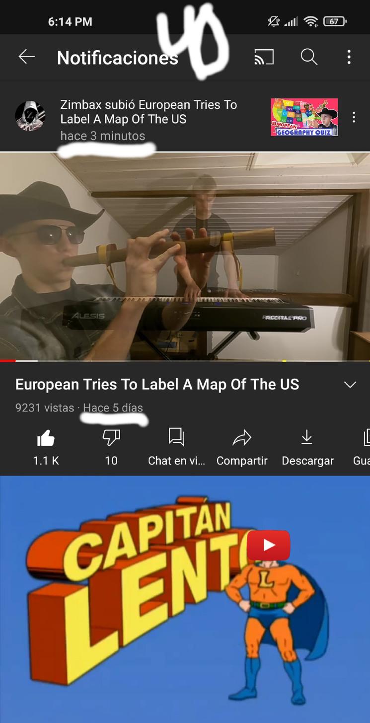 PTM YouTube anda bien lento :deskflip: - meme