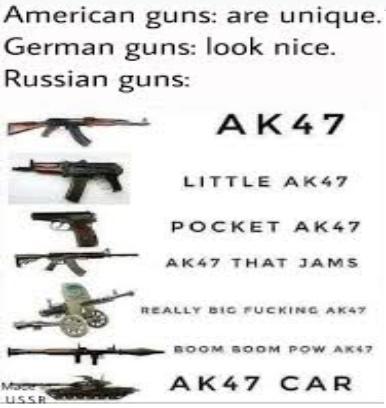 AK 47 good - meme