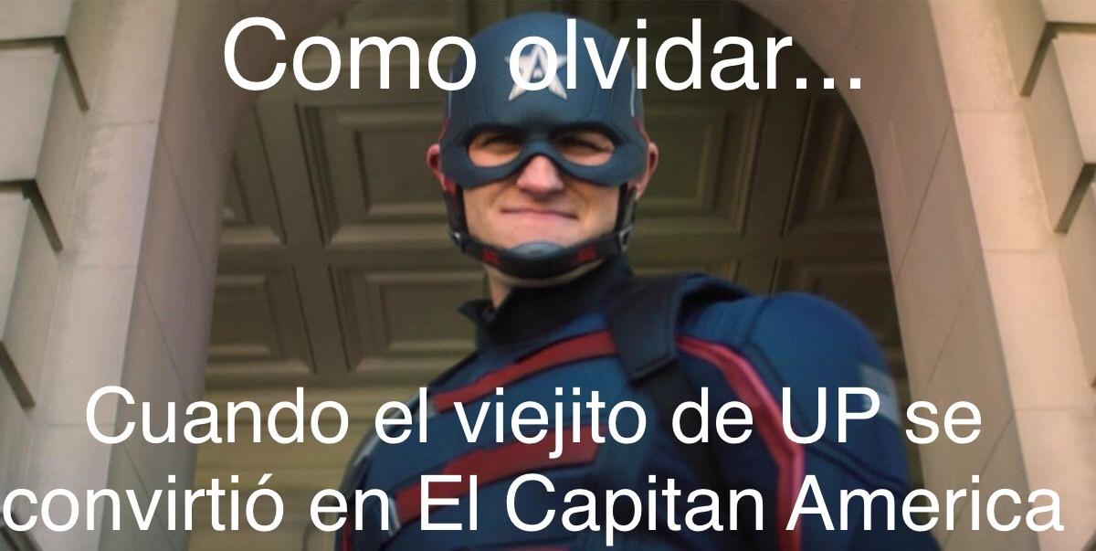 Up x Avengers :0 - meme