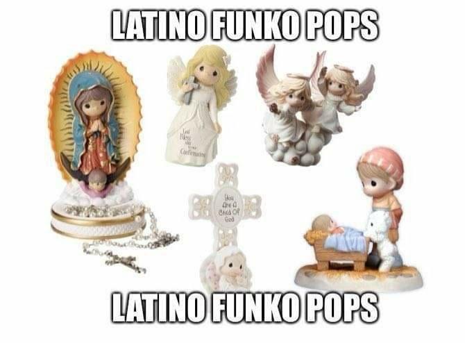 Mi abuela tiene un montón de esos funkos - meme