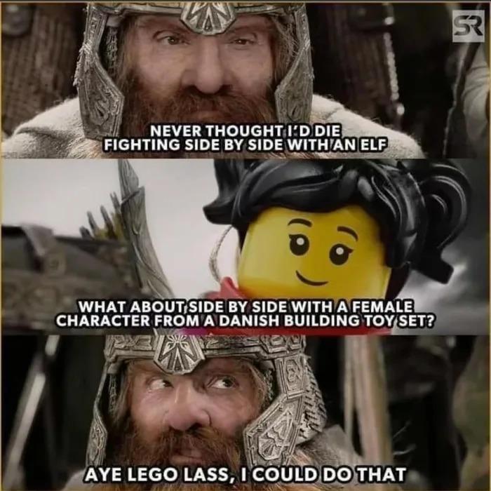 Lego lass - meme