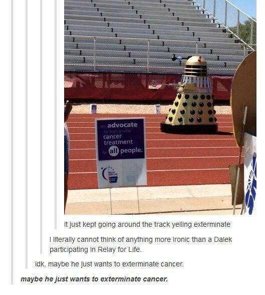 good guy Dalek - meme