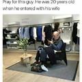 Poor guy