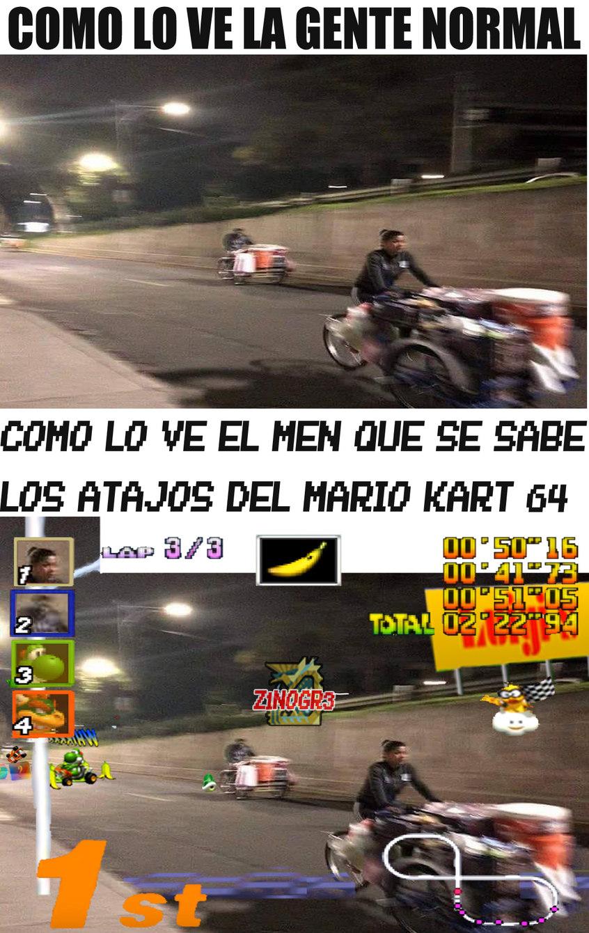 Welcome to champurrado kart - meme