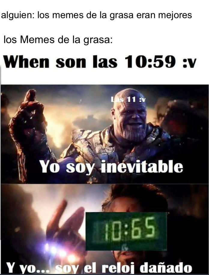 Literal los memes de la grasa