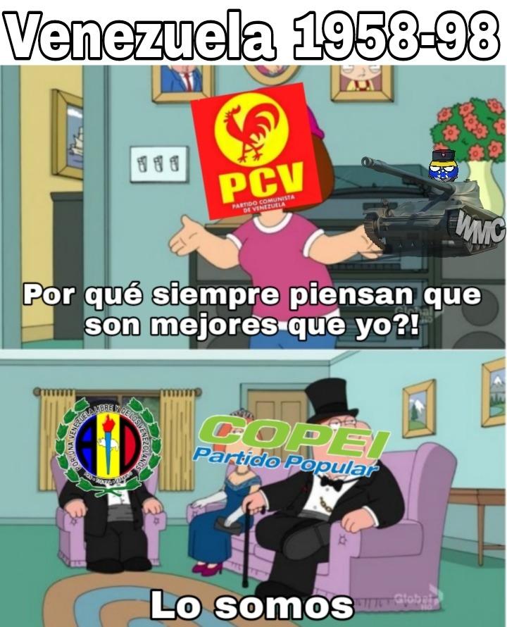 Puto partido comunista, solo existió para ser inútil - meme