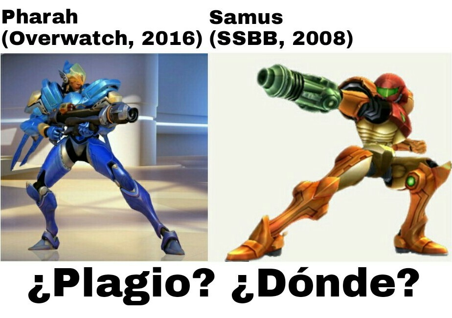 Plagios everywhere - meme