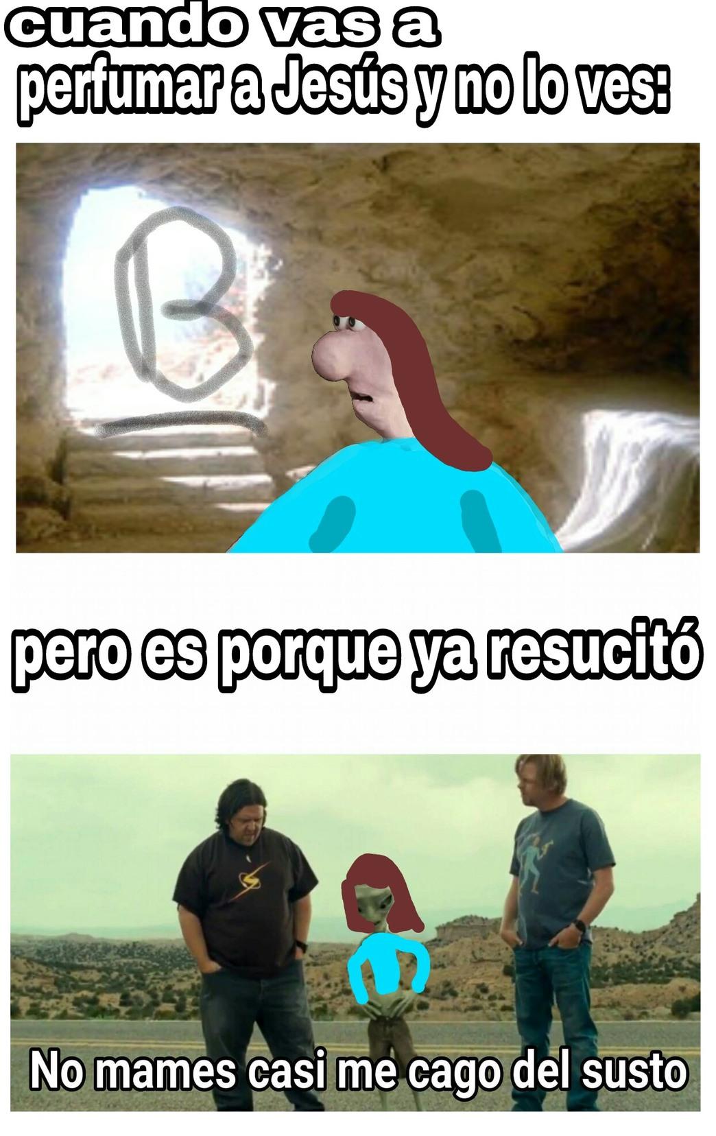 Domingo de resurrección - meme