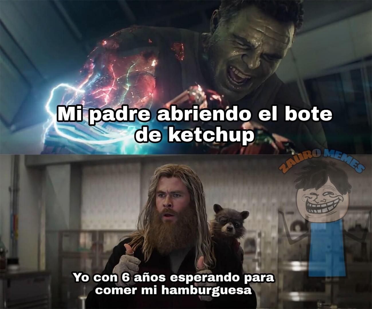 Catsup o ketchup - meme