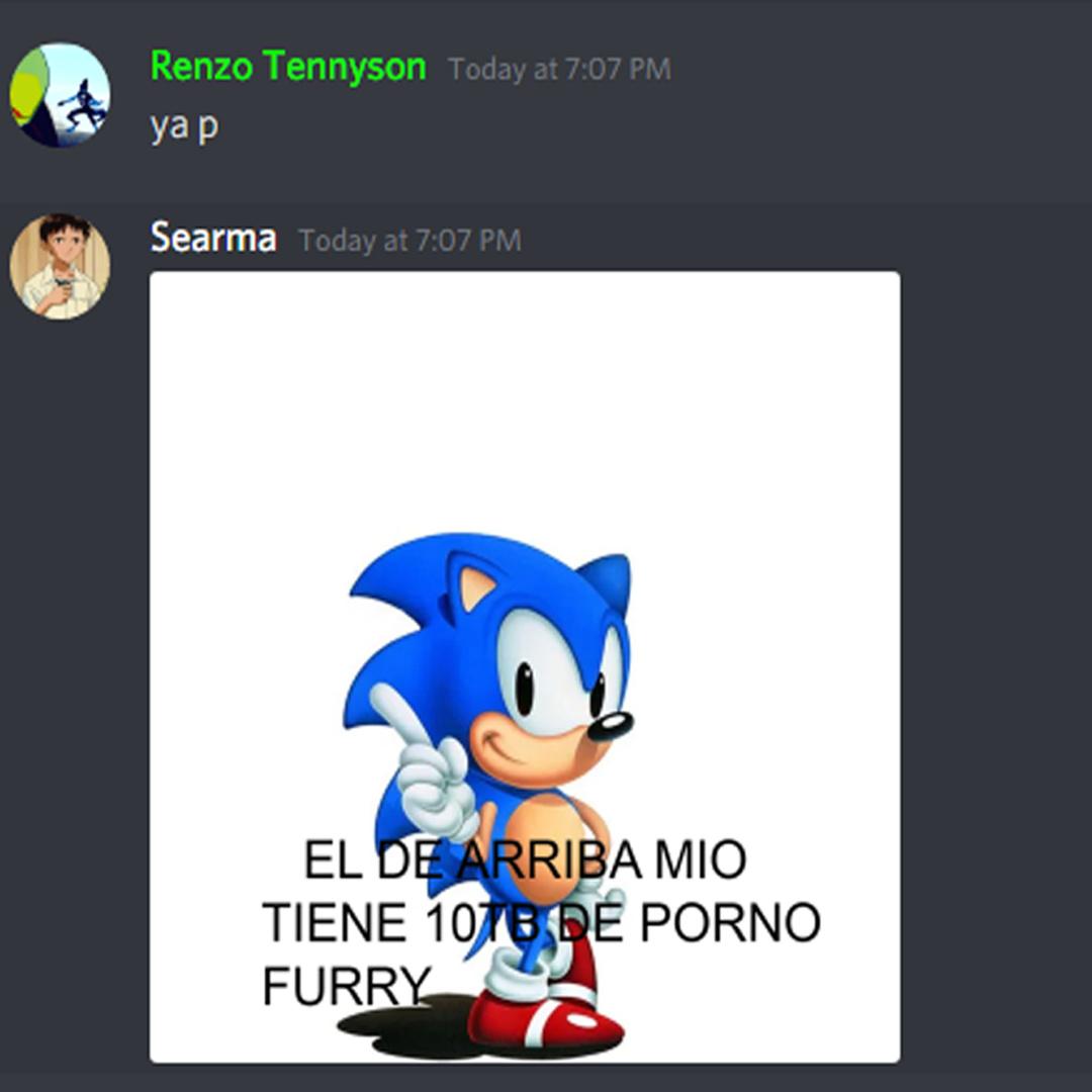Renzo es furry jaja - meme