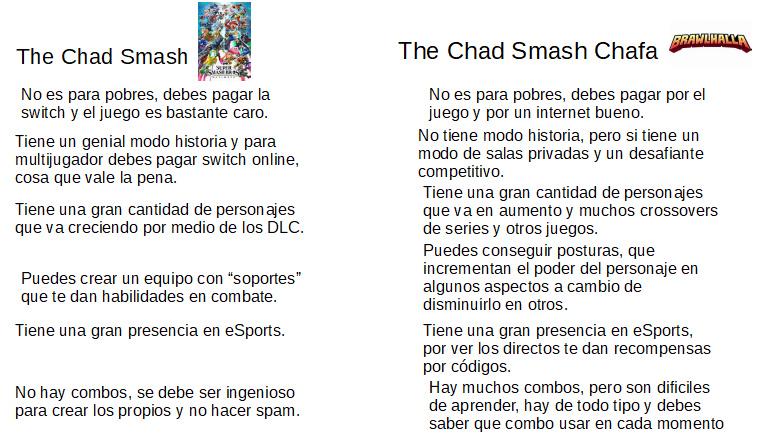 Smash original está genial, lo mismo brawlhalla - meme