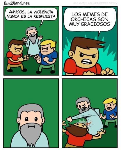 OkChicas es una mierda - meme
