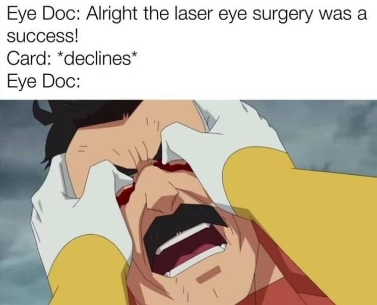 eye doctor - meme